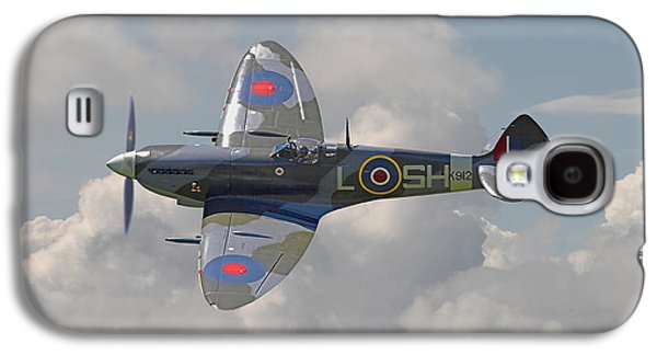 Supermarine Spitfire Galaxy S4 Case by Pat Speirs