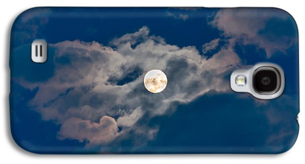 Man In The Moon Galaxy S4 Cases - Supermoon Galaxy S4 Case by Robert Bales