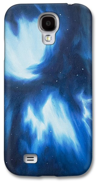 Stellar Paintings Galaxy S4 Cases - Supernova Explosion Galaxy S4 Case by James Christopher Hill