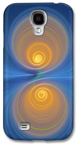 Supersymmetry And Or Bipolarity Galaxy S4 Case by David Parker