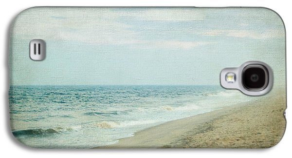 Original Art Photographs Galaxy S4 Cases - Surf and Sand Galaxy S4 Case by Colleen Kammerer