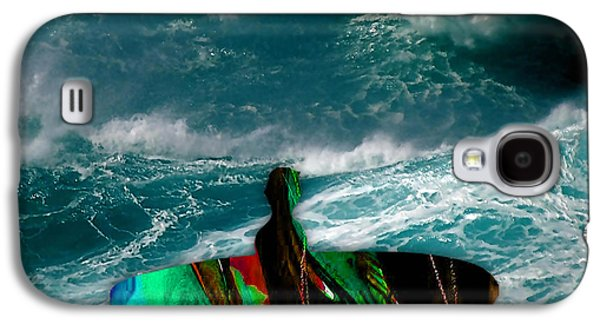 Surf Board Galaxy S4 Case by Marvin Blaine
