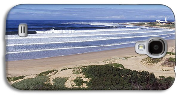Francis Photographs Galaxy S4 Cases - Surf In The Sea, Cape St. Francis Galaxy S4 Case by Panoramic Images