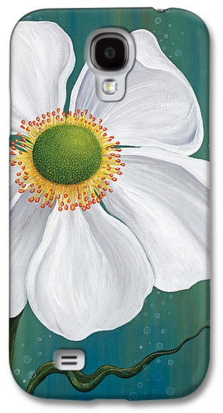 Green Glass Galaxy S4 Cases - Surfacing Galaxy S4 Case by Tanielle Childers