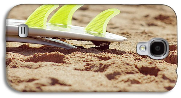 Action Photographs Galaxy S4 Cases - Surfboard fins Galaxy S4 Case by Carlos Caetano