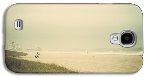 Seaside Heights Galaxy S4 Cases - Surfs Up Seaside Park New Jersey Galaxy S4 Case by Terry DeLuco