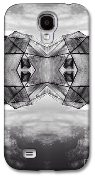Surreal Landscape Galaxy S4 Cases - Surreal Landscape - Dwelling Galaxy S4 Case by Edward Fielding