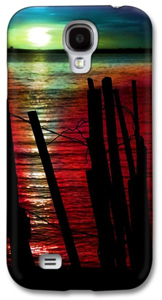 Modern Abstract Photographs Galaxy S4 Cases - Surreal Sunset Galaxy S4 Case by Marianna Mills