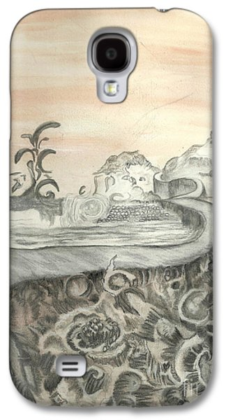 Angela Pelfrey Galaxy S4 Cases - Surreal View Galaxy S4 Case by Angela Pelfrey