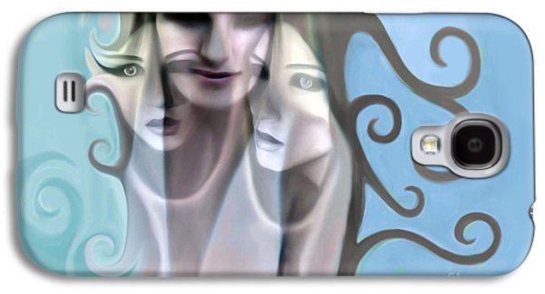 Angel Mermaids Ocean Galaxy S4 Cases - Surrendering I absolve them  Galaxy S4 Case by Rachelle Petersen