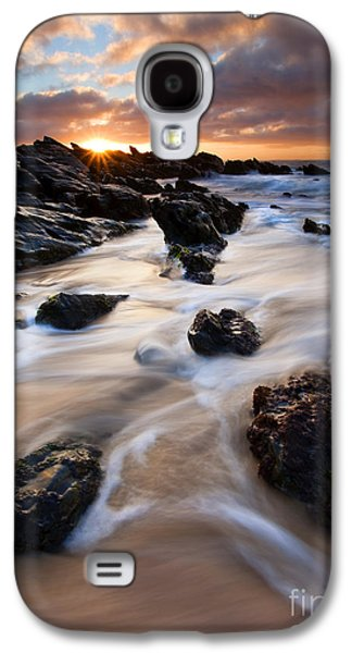 Seascape Galaxy S4 Cases - Surrounded by the Tides Galaxy S4 Case by Mike  Dawson