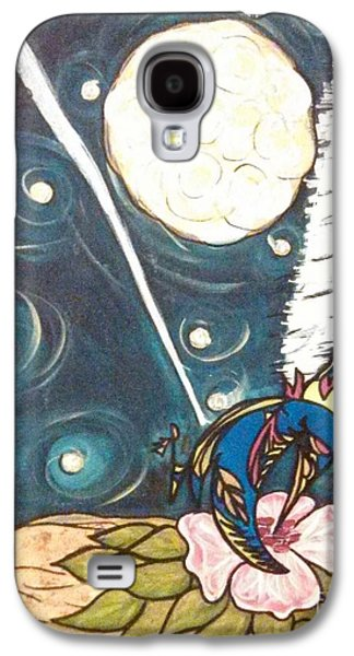 Jet Star Paintings Galaxy S4 Cases - Survival Galaxy S4 Case by Lilly Sherwood