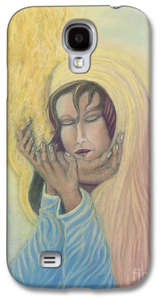 Saviour Drawings Galaxy S4 Cases - Surviving Your Tsunami Galaxy S4 Case by Robin Grace