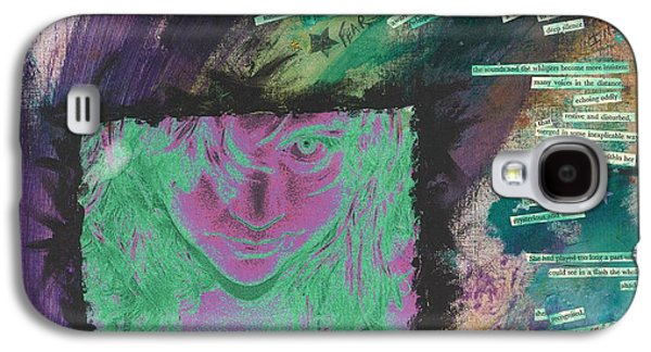 Abstract Collage Drawings Galaxy S4 Cases - Survivor Galaxy S4 Case by Renee  Gaudet