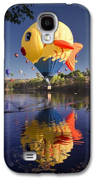 Hot Air Balloon Galaxy S4 Cases - Sushi Galaxy S4 Case by Sean Foster