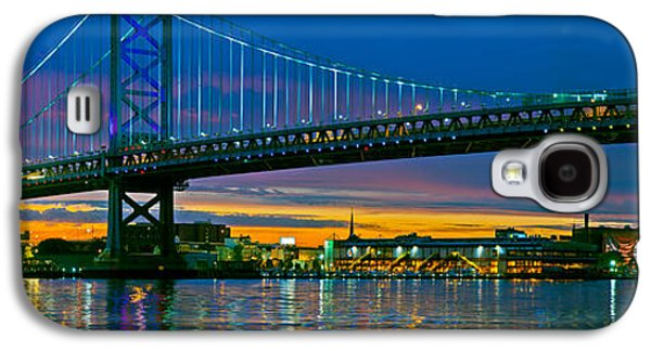 Suspension Bridge Across A River, Ben Galaxy S4 Case by Panoramic Images