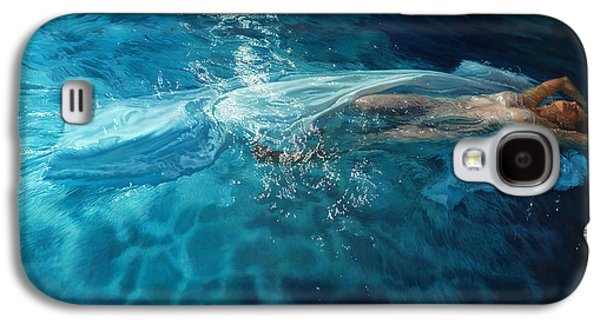 Angel Mermaids Ocean Galaxy S4 Cases - Susperia Galaxy S4 Case by Mia Tavonatti