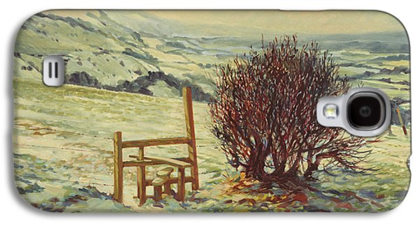 Snow Scenes Galaxy S4 Cases - Sussex Stile, Winter, 1996 Galaxy S4 Case by Robert Tyndall