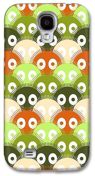 Pattern Digital Galaxy S4 Cases - Susuwatari Pattern Color Galaxy S4 Case by Freshinkstain