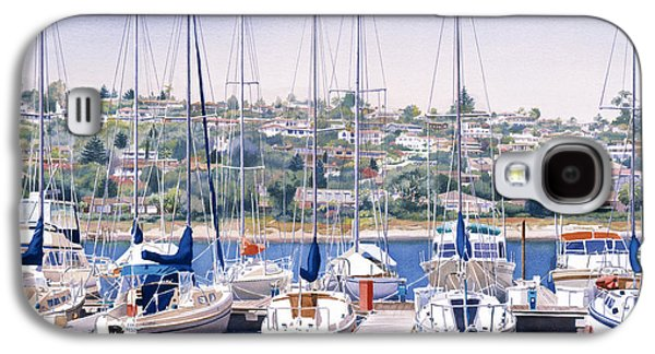 Yacht Galaxy S4 Cases - SW Yacht Club in San Diego Galaxy S4 Case by Mary Helmreich