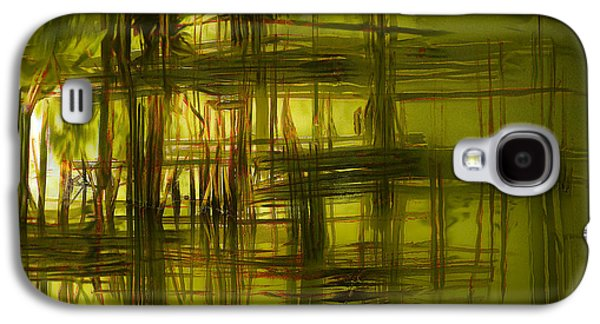 Nature Abstract Galaxy S4 Cases - Swamp Galaxy S4 Case by Ted Guhl