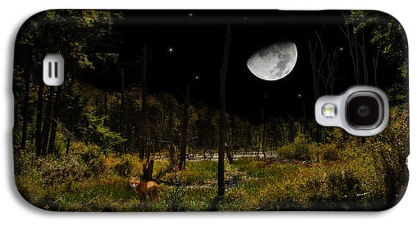 Swamped Moon Landscape Galaxy S4 Case by Christina Rollo