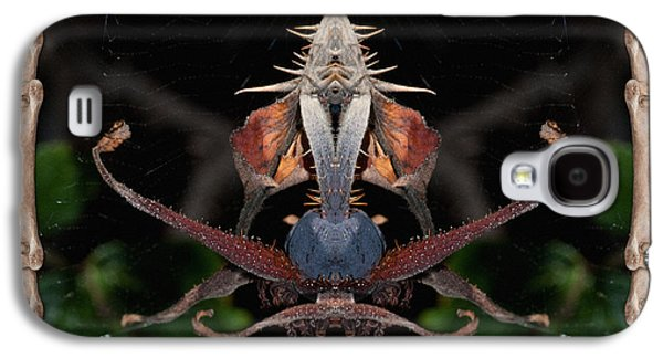 Nature Abstracts Galaxy S4 Cases - Swan Dive Galaxy S4 Case by WB Johnston