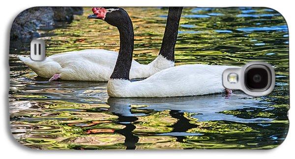 Swan Pair Galaxy S4 Cases - Swan Lake Galaxy S4 Case by Jamie Pham