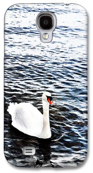 Swans... Galaxy S4 Cases - Swan Galaxy S4 Case by Mark Rogan