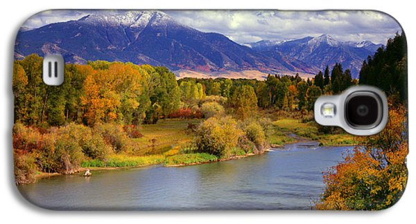 Swan Valley Autumn Galaxy S4 Case by Leland D Howard