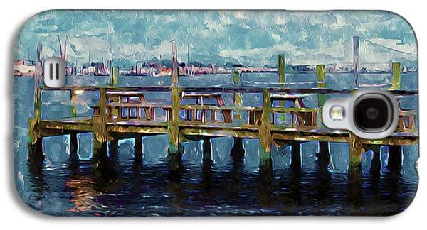 Swansboro Dock 1 Galaxy S4 Case by Lanjee Chee