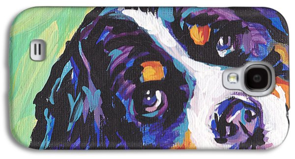 Puppies Galaxy S4 Cases - Sweet Berner Galaxy S4 Case by Lea
