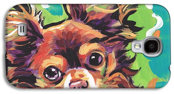 Puppies Galaxy S4 Cases - Sweet Choco Chi  Galaxy S4 Case by Lea