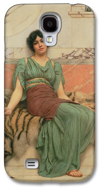 Victorian Photographs Galaxy S4 Cases - Sweet Dreams, 1901 Oil On Canvas Galaxy S4 Case by John William Godward