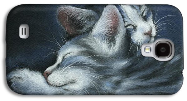 Print On Canvas Galaxy S4 Cases - Sweet Dreams Galaxy S4 Case by Cynthia House