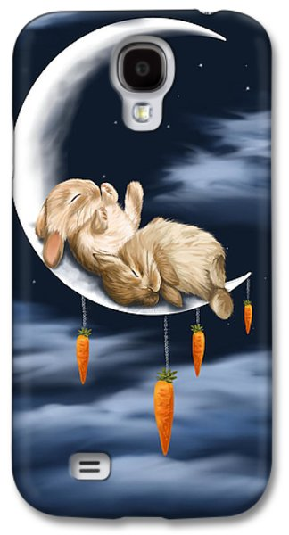 Digital Paintings Galaxy S4 Cases - Sweet dreams Galaxy S4 Case by Veronica Minozzi