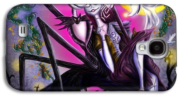 Sweet Loving Dreams In Halloween Night Galaxy S4 Case by Alessandro Della Pietra