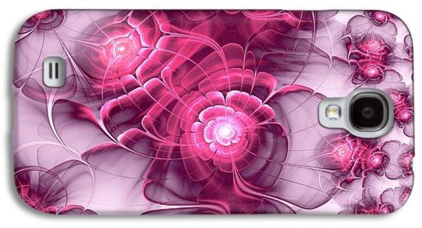 Plant Galaxy S4 Cases - Sweet Sakura Galaxy S4 Case by Anastasiya Malakhova