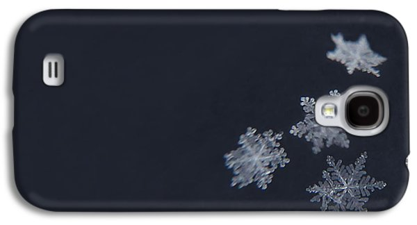 Winters Galaxy S4 Cases - Sweet Snowflakes Galaxy S4 Case by Carrie Ann Grippo-Pike