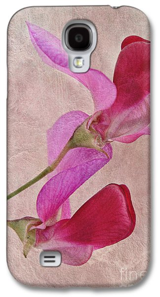 Close Focus Floral Galaxy S4 Cases - Sweet Textures 2 Galaxy S4 Case by John Edwards
