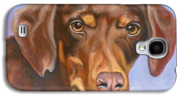 Cattle Dog Galaxy S4 Cases - Sweetest Rescue Galaxy S4 Case by Susan A Becker