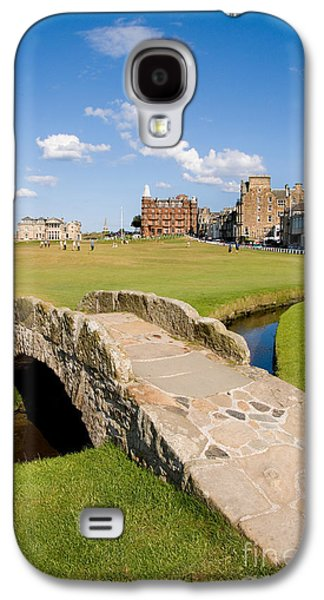 Pastimes Galaxy S4 Cases - Swilcan Bridge On The 18th Hole At St Andrews Old Golf Course Scotland Galaxy S4 Case by Unknown