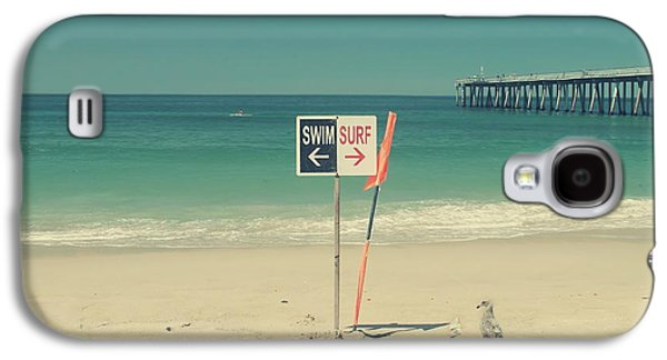 Paddle Galaxy S4 Cases - Swim and Surf Galaxy S4 Case by Laurie Search