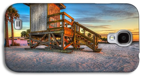 Shed Photographs Galaxy S4 Cases - Swim at Your Own Risk Galaxy S4 Case by Marvin Spates