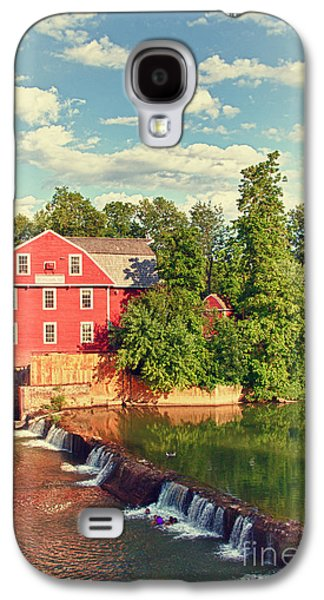 Old Mill Scenes Photographs Galaxy S4 Cases - Swimming At War Eagle Galaxy S4 Case by Robert Frederick