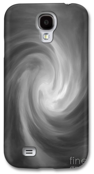 Tempest Galaxy S4 Cases - Swirl Wave IV Galaxy S4 Case by David Gordon
