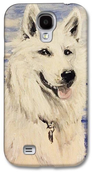 Guard Dog Galaxy S4 Cases - Swiss Shepherd Galaxy S4 Case by I F Abbie Shores