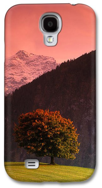 Rural Scenes Photographs Galaxy S4 Cases - Switzerland, Alps Galaxy S4 Case by Panoramic Images