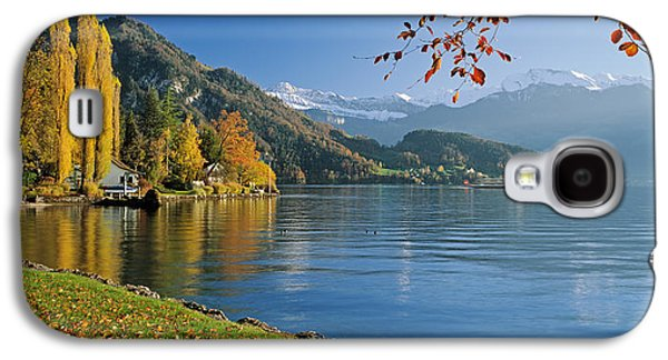 Lucerne Galaxy S4 Cases - Switzerland, Canton Lucerne, Lake Galaxy S4 Case by Panoramic Images