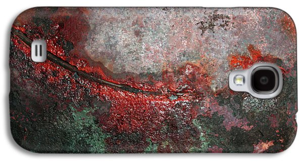 Abstract Landscape Digital Art Galaxy S4 Cases - Swoop Galaxy S4 Case by James W Johnson